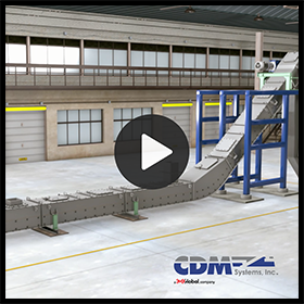 CDM Systems Drag Conveyors – Features and Benefits