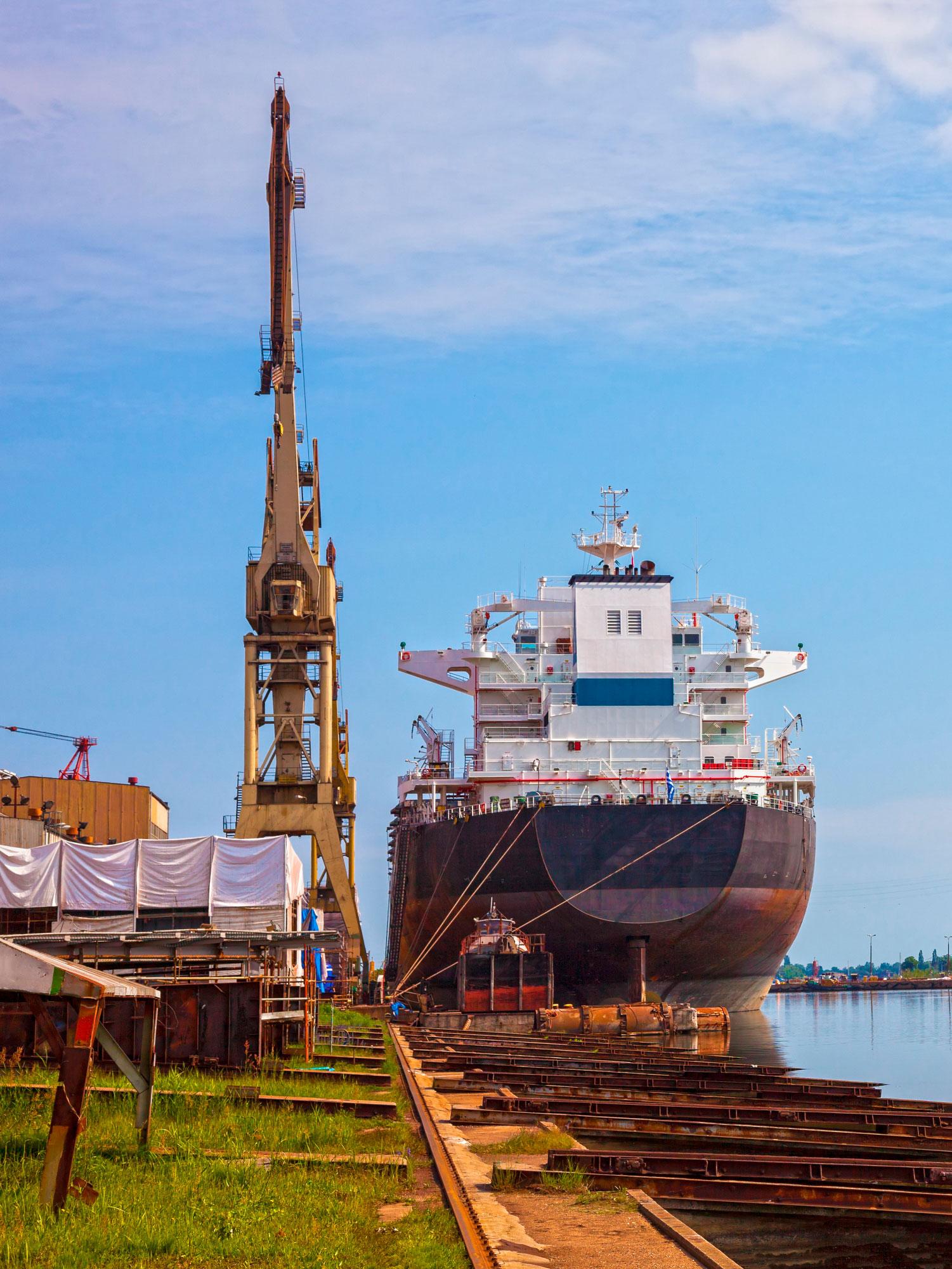 CDM Marine Leg Ship Unloader