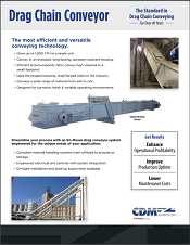 CDM En-Masse Drag Chain Conveyor Product Brochure