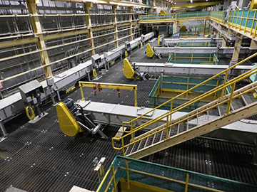 CDM Systems En-Masse Drag Conveyor System Installation