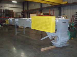 CDM Systems Repurposed Drag Chain Conveyor