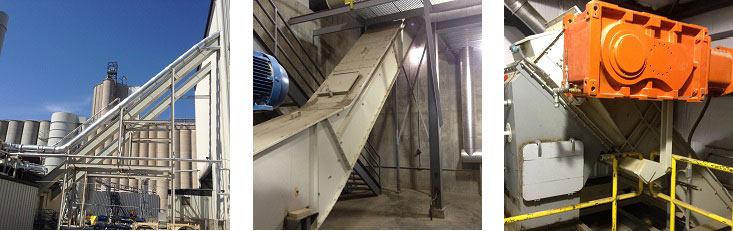 En-Masse Conveyor System Installation