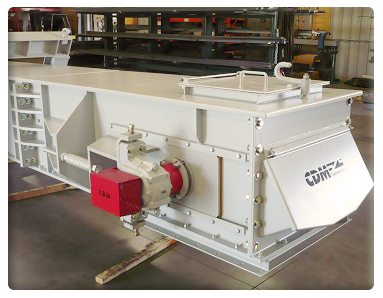 CDM Systems En-Masse Drag Chain Conveyor