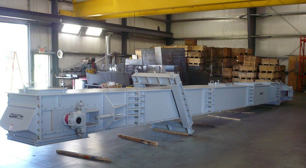 CDM Self-Supporting En-Masse Drag Conveyor