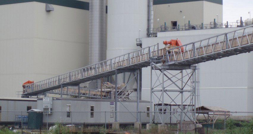 CDM Systems En-Masse Drag Chain Conveyor Ash handling Installation