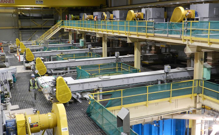 CDM Potash Drag Chain Conveyors in Mill