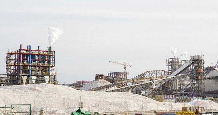 Potash Processing Operation