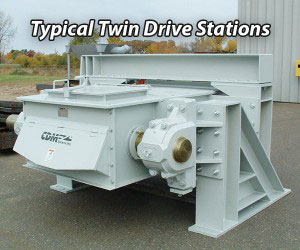 CDM Systems Conveyor Typical Twin Drive Stations